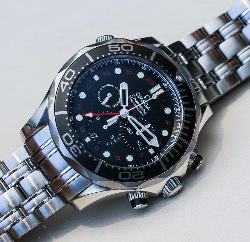 Omega Seamaster 300M Chronograph GMT co-axial Reloj Replica