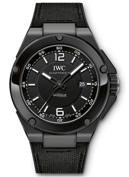 Replicas IWC Ingenieur Automatic AMG Serie Negra De Cerámica
