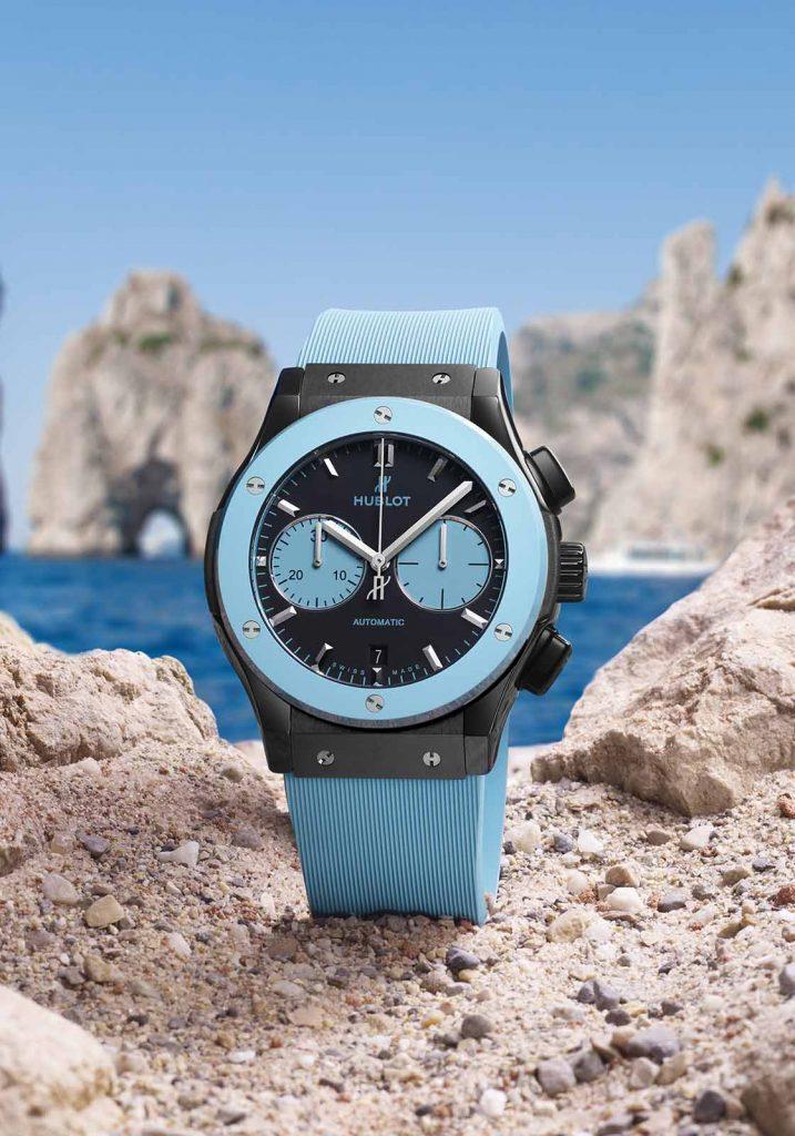 Hublot Classic Fusion Chronograph Capri Replica
