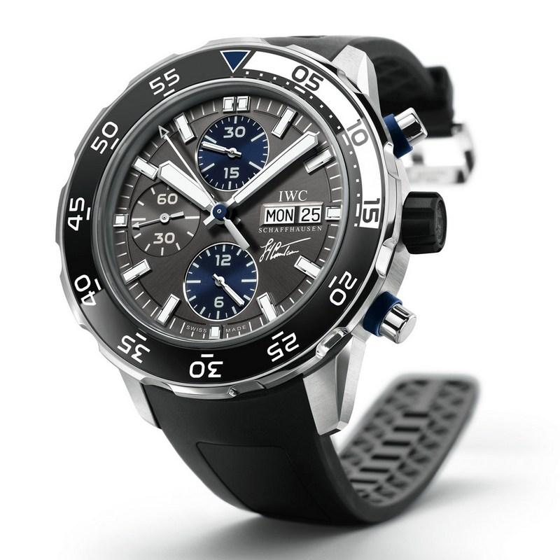 IWC Aquatimer Chronograph Edition Jacques Yves Cousteau Reloj Replica