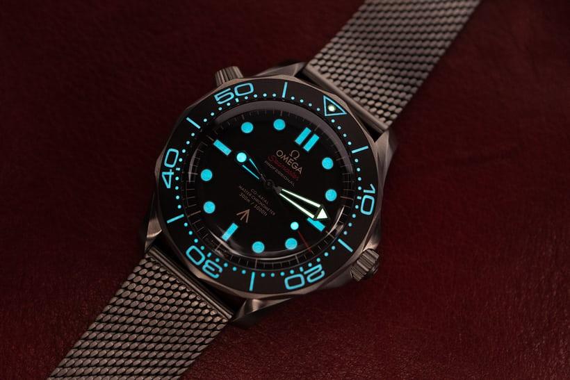Replica Omega Seamaster Diver 300M 007