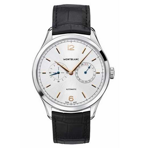 Montblanc Heritage Chronometrie Twincounter Date Replica