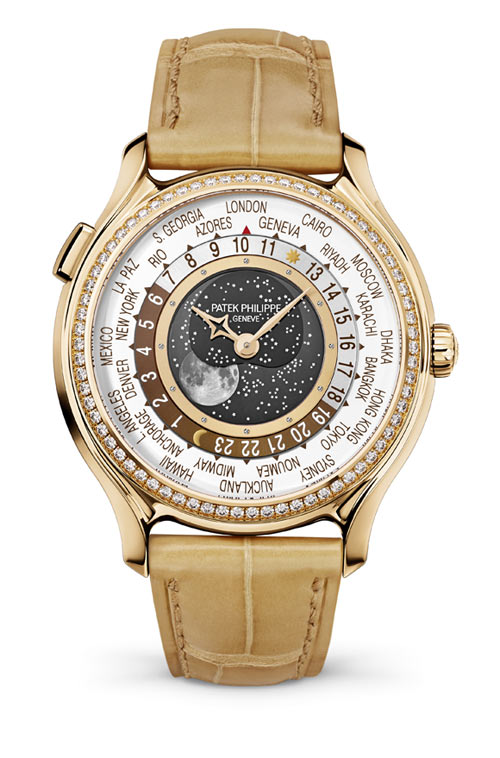 Replicas De Relojes Patek Philippe World Time Moon