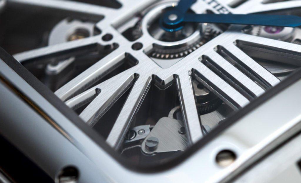 Cartier Santos De Cartier Skeleton Replica Reloj