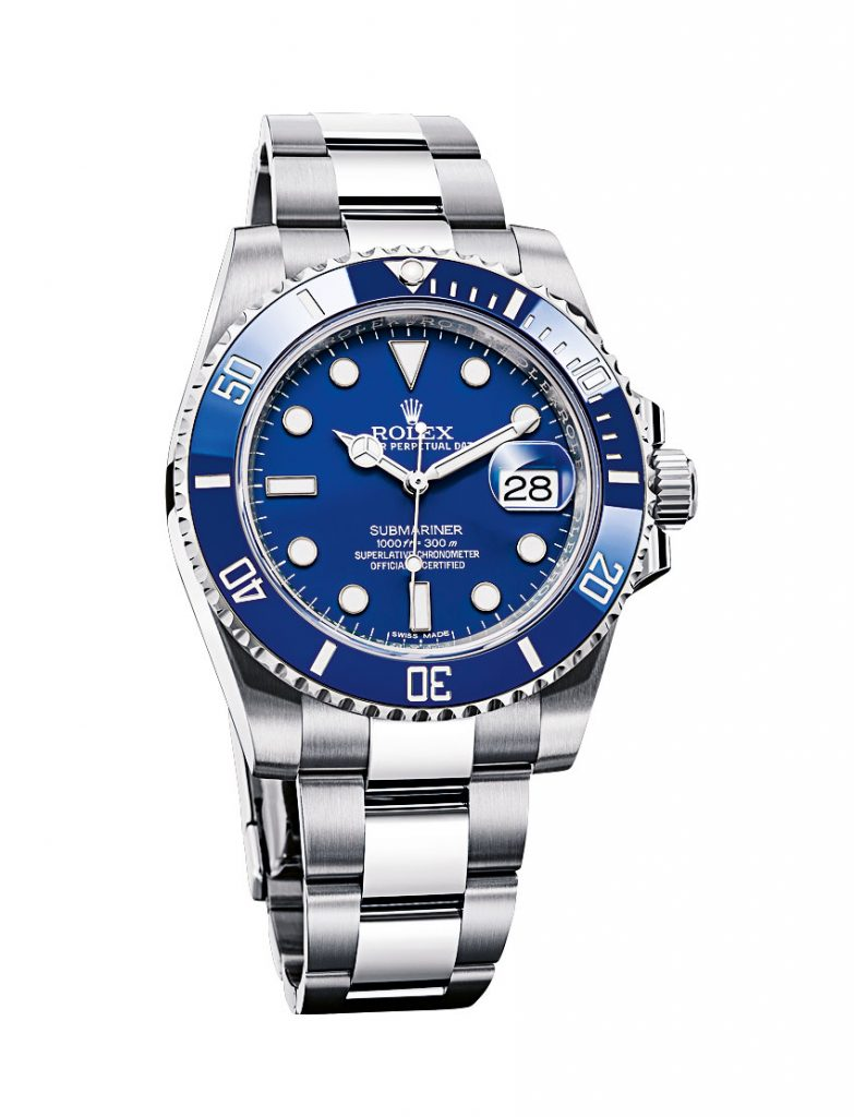 Rolex Submariner Date Azul Replica